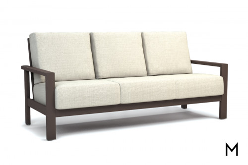 Cushioned Patio Sofa