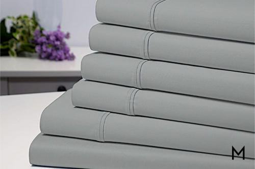 Luxury Silver King Sheet Set