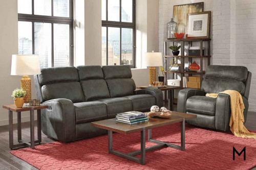 Tomkins Power Reclining Sofa with Power Headrests