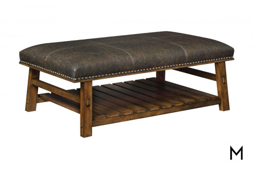 Mission Accent Bench with Padded Top