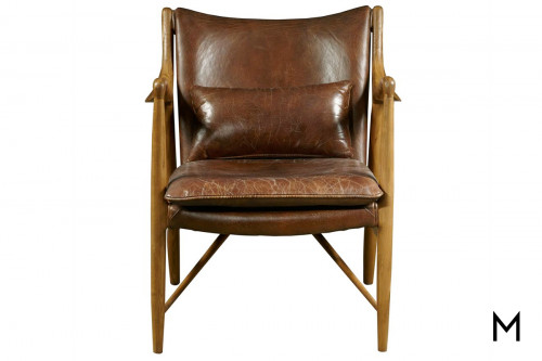 Griffin Accent Chair in Leather