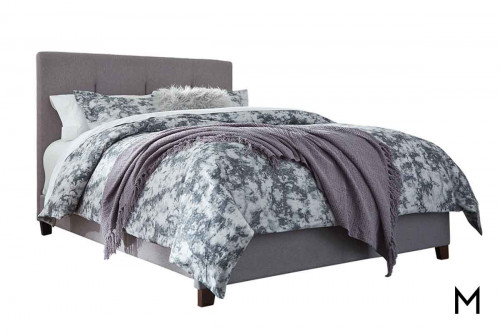 Dolante Queen Upholstered Bed in Gray