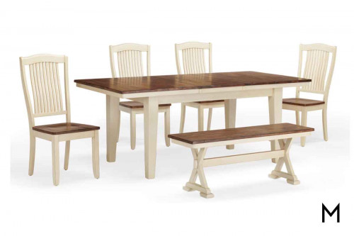 Beaver Creek 6 Piece Dining Set