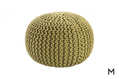 Floor Pouf in Fern Green