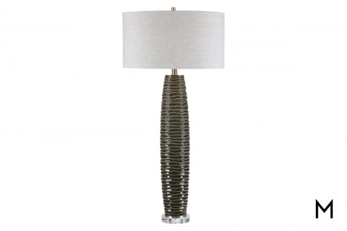 Contemporary Ceramic Base Table Lamp