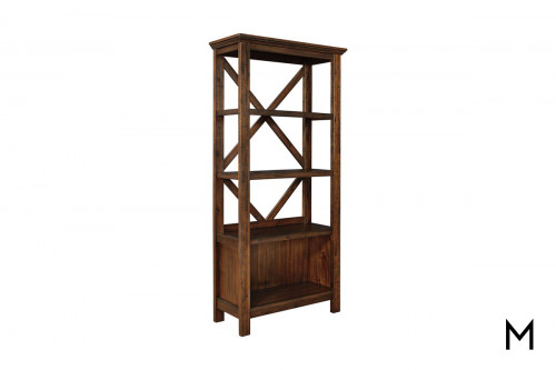 Baldridge Large Bookcase