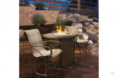 """Stonegate 54"""" Round Fire Table"""