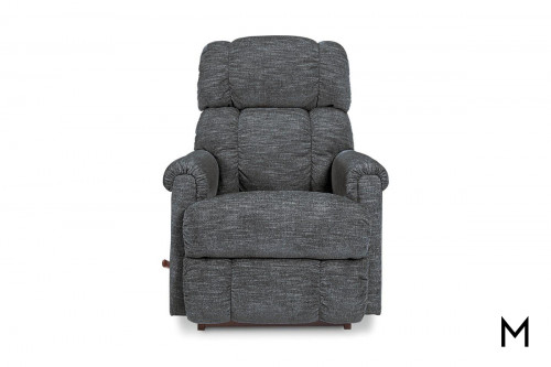 Pinnacle Rocker Recliner in Smoke Gray