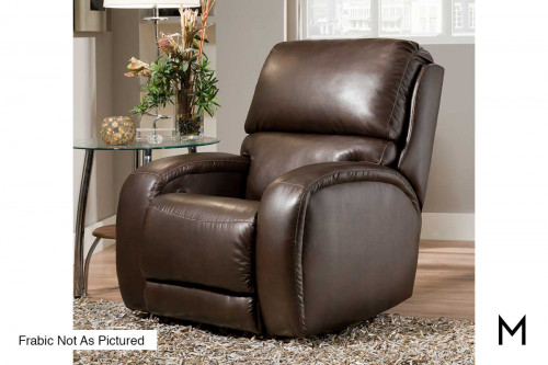 M Collection Fandango Rocker Recliner in Tweed Graphite