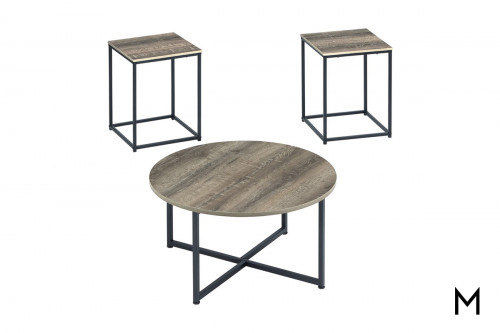 Wadeworth Accent Tables with 3 Tables