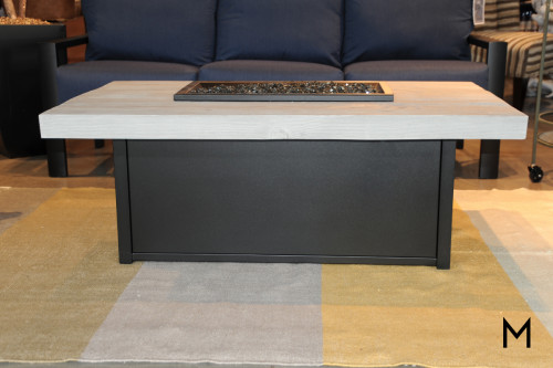 Rectangular Fire Table