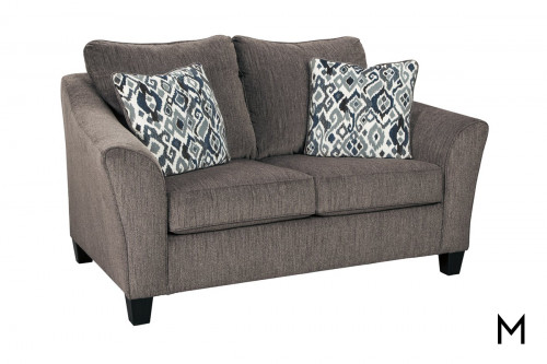 Nemoli Loveseat in Slate