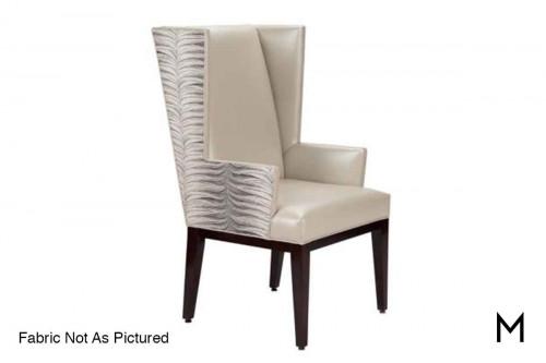 Carson Winged Arm Chair
