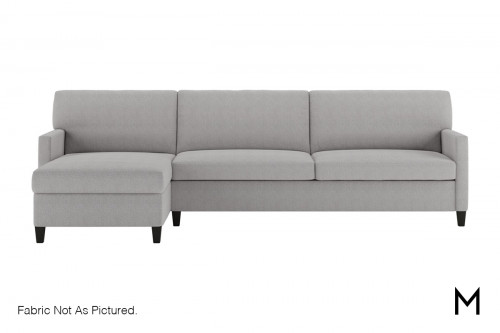 Queen Sleeper Sectional Sofa with Storage Chaise