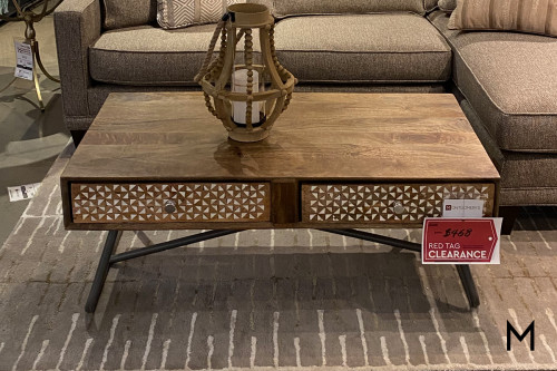 M Collection Blondell Coffee Table