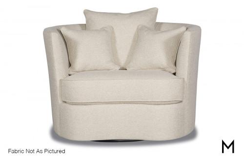 Bruno Swivel Accent Chair