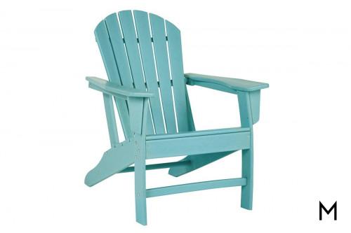 Sundown Adirondack Chair in Turquoise