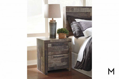 Derekson Nightstand with USB charger