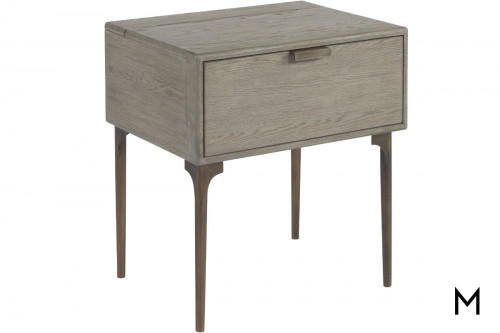 Graham Nightstand with Power