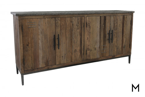 Ellen 4 Door Sideboard with Stone Top