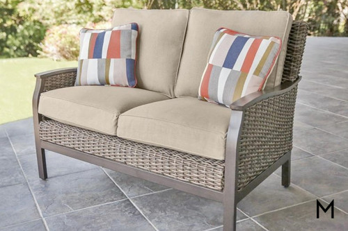 M Collection Trenton Love Seat