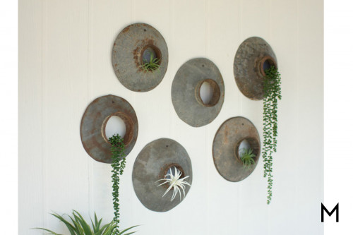 Recycled Metal Wall Hanging
