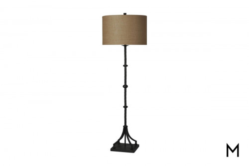 Iron Twist Floor Lamp