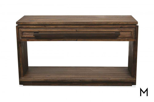 Modern Gatherings Console Table made of Acacia Wood