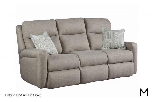 M Collection Metro Power Reclining Sofa