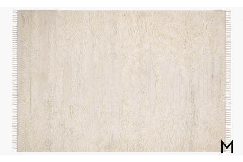 Abbot Wool Rug 7'x9' in Ivory