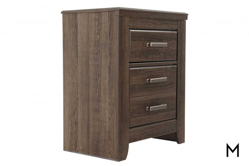 Juararo Nightstand with Drawers