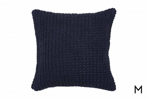 "Nita Pillow 20""x20"" in Navy"