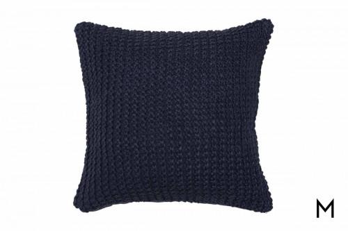 """Nita Pillow 20""""x20"""" in Navy"""
