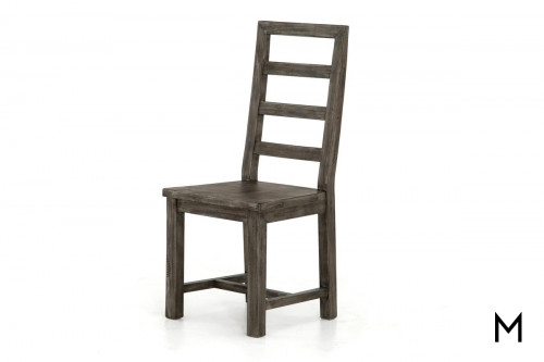 Ladder Back Side Dining Chair