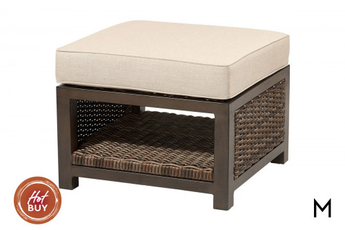 M Collection Trenton Cube Ottoman