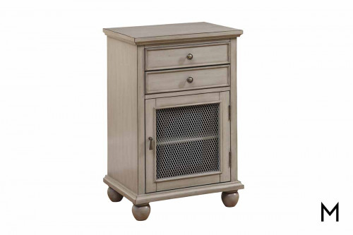 Sabre Grey Nightstand