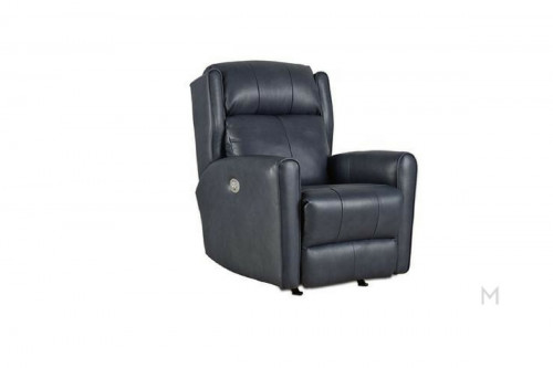 M Collection Classic Leather Recliner