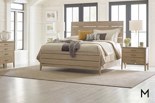 Sand Slat King Bed