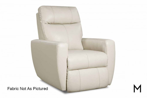 M Collection Knock Out Rocker Recliner with Power Headrest