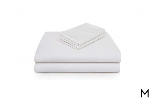 White Bamboo King Sheets