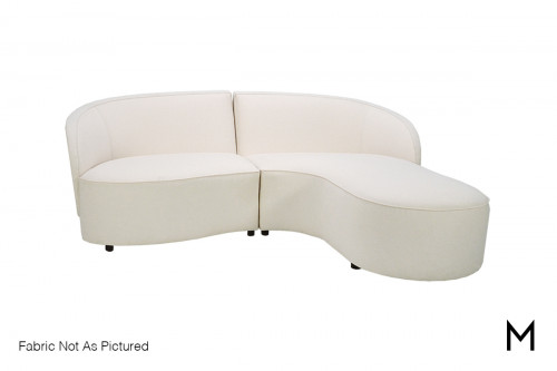 Rondo 2 Piece Sectional Sofa with Chaise
