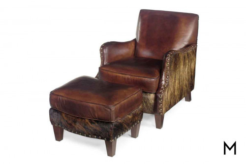Lanelli Club Chair and Ottoman