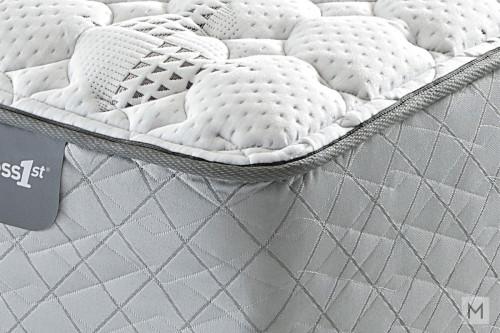 Mattress 1st Gel 1st Hybrid Cushion Firm Mattress - Twin with Gel-Enhanced Memory Foam