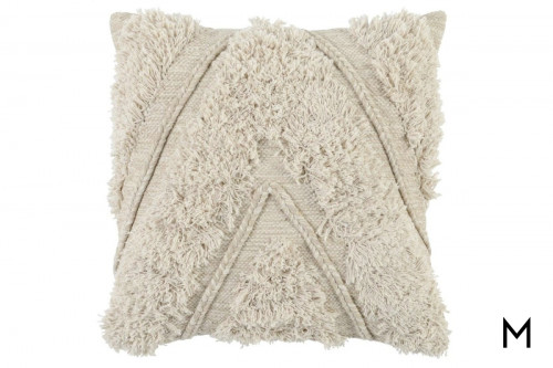 Sahara Natural & Ivory Pillow