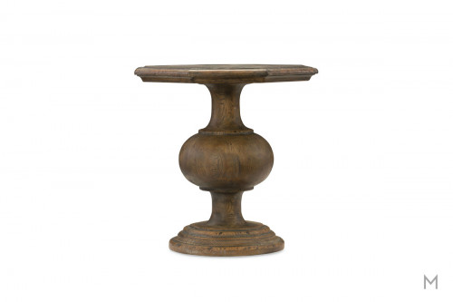 Hill Country Mason End Table featuring Two Tone Wood