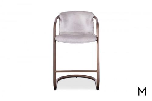 Portofino Antique Counter Chair in White