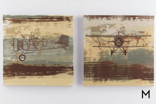 Aviation Gallery Wall Art