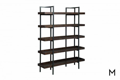 Starmore Bookcase in Oiled Walnut