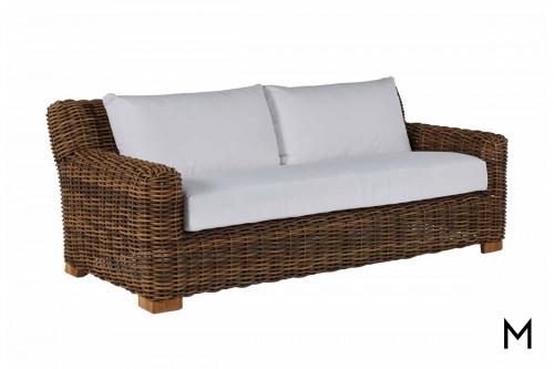 Raffia Outdoor Sofa