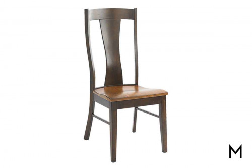 Baxter Dining Chair in Boone Chestnut